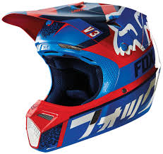 childrens motocross helmet fox bicycle fox v3 divizion helmets motocross orange blue fox