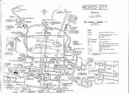 Maps Mexico by Mexico City Electric Trolleybus Maps