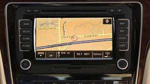 volkswagen rns 510 gps navigation how to instructions youtube