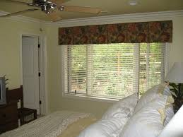box pleat valance with wood blinds window blinds pinterest