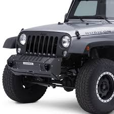 jeep rhino color 2017 go rhino jeep wrangler 2007 2017 brj40 stubby black front winch