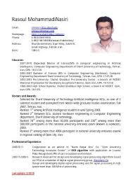 Resume English Resume English Version Gholam Reza Dini Webs