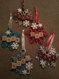 another version of scrabble tile crafts can add additional tiles