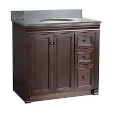 bathroom vanities with left side drawers 36 inch marble top