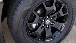 nissan frontier 2018 nissan midnight edition will offer blacked out looks for titan and