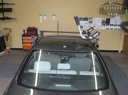 2014 Toyota Corolla Roof Rack by Cascade Rack 2014 Toyota Corolla Base Rack Installation Yakima