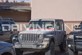 jl jeep diesel exclusive spy photos of the 2018 jeep wrangler jl in moab utah