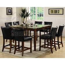 Faux Marble Top Dining Table Contemporary Design Faux Marble Dining Table Set Exclusive Ideas