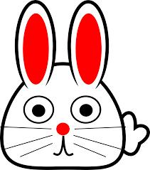 clipart spring bunny 5
