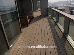 wood plastic composite waterproof balcony flooring waterproof