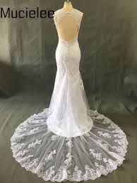 backless lace wedding dresses aliexpress buy vestidos de noivas backless lace wedding