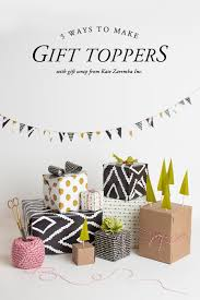 5 gift topper ideas the house that lars built