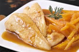 cuisiner des aiguillettes de poulet aiguillettes de poulet sauce mandarine