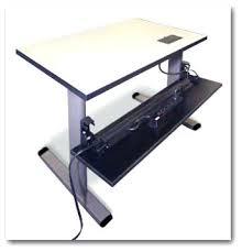 Computer Desk On Wheels Computer Standing Table Portable Laptop Desk Adjustable Computer