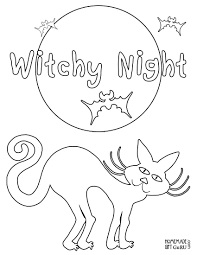 Free Printable Halloween Sheets by Halloween Coloring Sheets Free Printable Halloween Coloring Pages