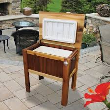 Western Red Cedar Outdoor Furniture by Gronomics Western Red Cedar Cooler Chest Cc 24 32c Free Shipping
