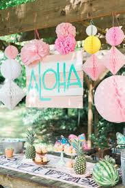 Barbie Themed Baby Shower by Best 25 Luau Bridal Shower Ideas On Pinterest Tropical Party
