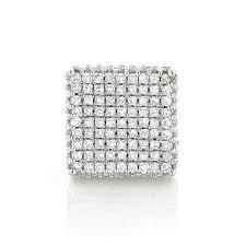 diamond stud earrings for women single 10k gold square men s diamond stud earring 0 6ct pave diamonds