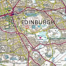 Edinburgh Map Edinburgh Jmcs Directions To Local Crags