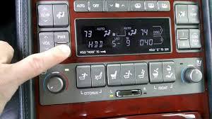 lexus annapolis service department lexus ls460 exec seat pkg rear audio controls youtube