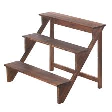 wooden steps plant stand wholesale at eastwind wholesale gift
