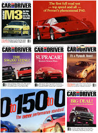 bmw magazine ads formula c d the car and driver covers of the 1990s