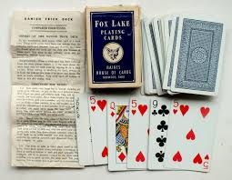 conjuring and magic the world of playing cards see also fox lake svengali deck