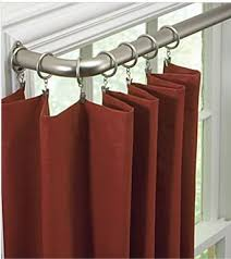 Corner Drapery Hardware Best 25 Long Curtain Rods Ideas On Pinterest Inexpensive