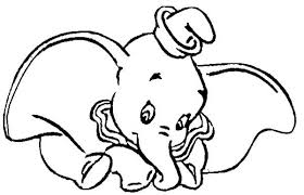 funny dumbo elephant coloring pages bulk color