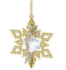 swarovski swarovski ornament gold tone 5135809