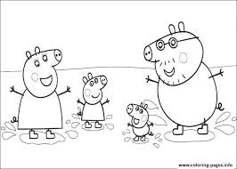 coloring pages peppa the pig coloring pages peppa pig printable copy awesome page in with