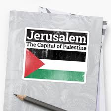 Flag Of Jerusalem Jerusalem The Capital Of Palestine With Palestine Flag