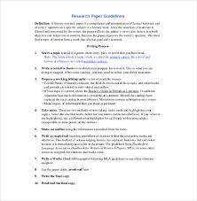 how to make research paper outline 8 research paper outline templates u2013 free sample example format
