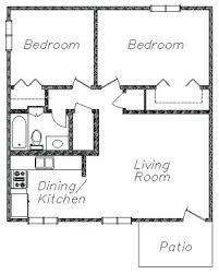 two bedroom cottage floor plans plans 2 bedroom 1 bath floor plans