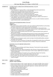 resume business analyst banking domain concepts business analyst operations resume sles velvet jobs