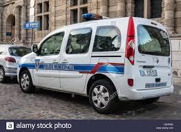 renault van kangoo municipal police renault kangoo van outside hôtel de ville arras