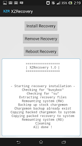 backup and restore apk xperia app recovery twrp 2 4 3 0 for lockled boot sony xperia z
