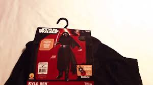 target halloween shirt target kylo ren costume from star wars the force awakens youtube