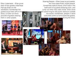 Ellen Bathroom Scares Hamida Gitsba Ir Iii The Ellen Degeneres Show Is An American