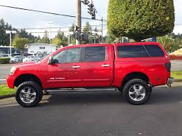 nissan truck titan red 2005 nissan titan available now oregoncardude