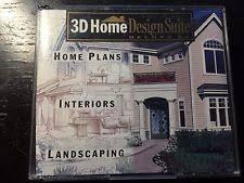 3d home design microsoft windows microsoft windows 98 image video audio software ebay
