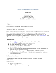 Sample Mainframe Resume by Resume For Technical Support Engineer Resume For Your Job