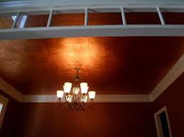 dining room ceilings savard studios fabulous copper leafed dining room ceiling