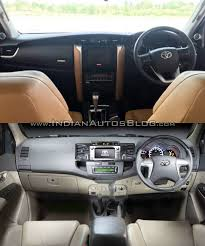toyota old 2016 toyota fortuner vs current toyota fortuner old vs new