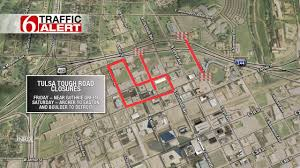 Tulsa Map Tulsa Tough Heating Up In Downtown Tulsa Newson6 Com Tulsa Ok