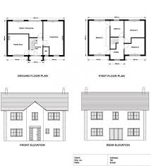 ground floor plan ground floor and floor plan elevations and sections of a