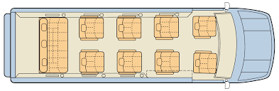 Data Center Floor Plan by Mercedes Conversion U2013 Luxury Van Midwest Automotive Designs