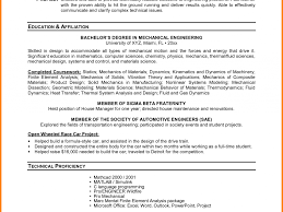 download resume objective examples for students