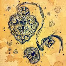 best 25 antique key tattoos ideas on skeleton key