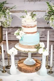 country baby shower ideas blue rustic chic baby shower chic baby rustic chic and cake